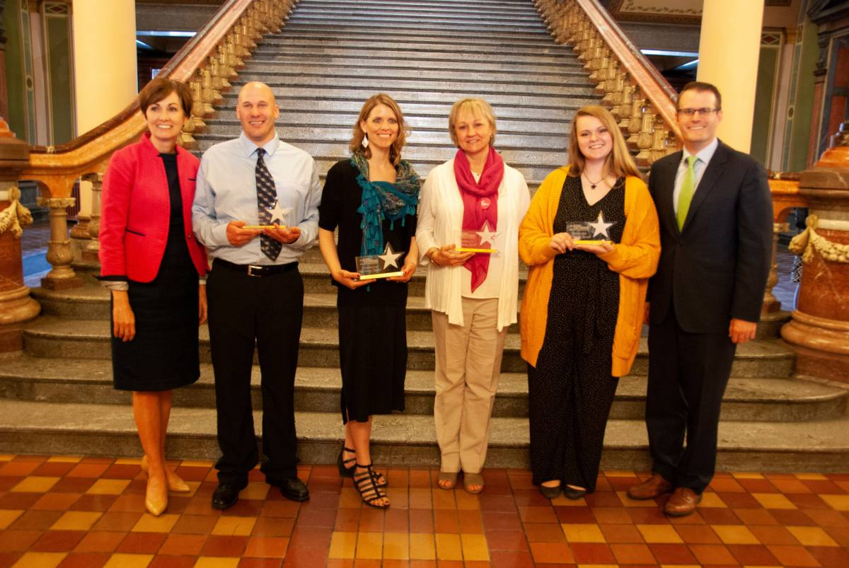 Excellence in Mentoring Awards | Iowa Mentoring Partnership
