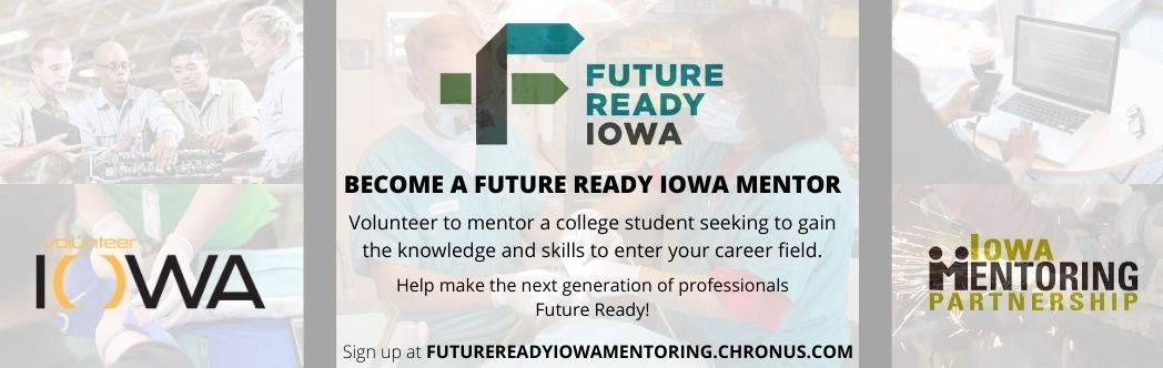 Become a Future Ready Iowa Mentor